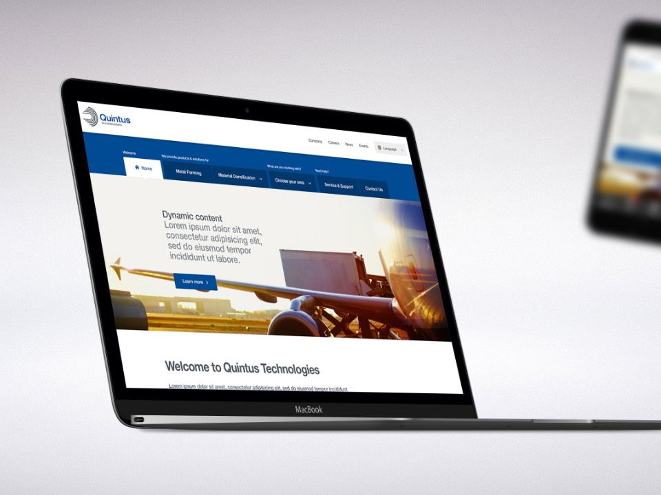 Quintus Technologies Website