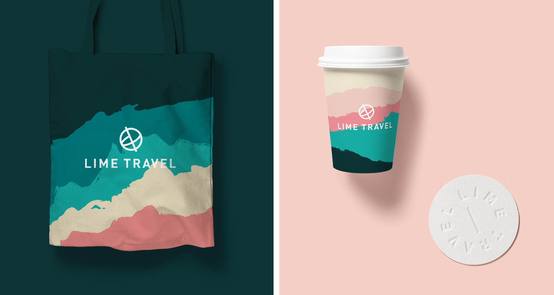 Tote bag and coffe cup