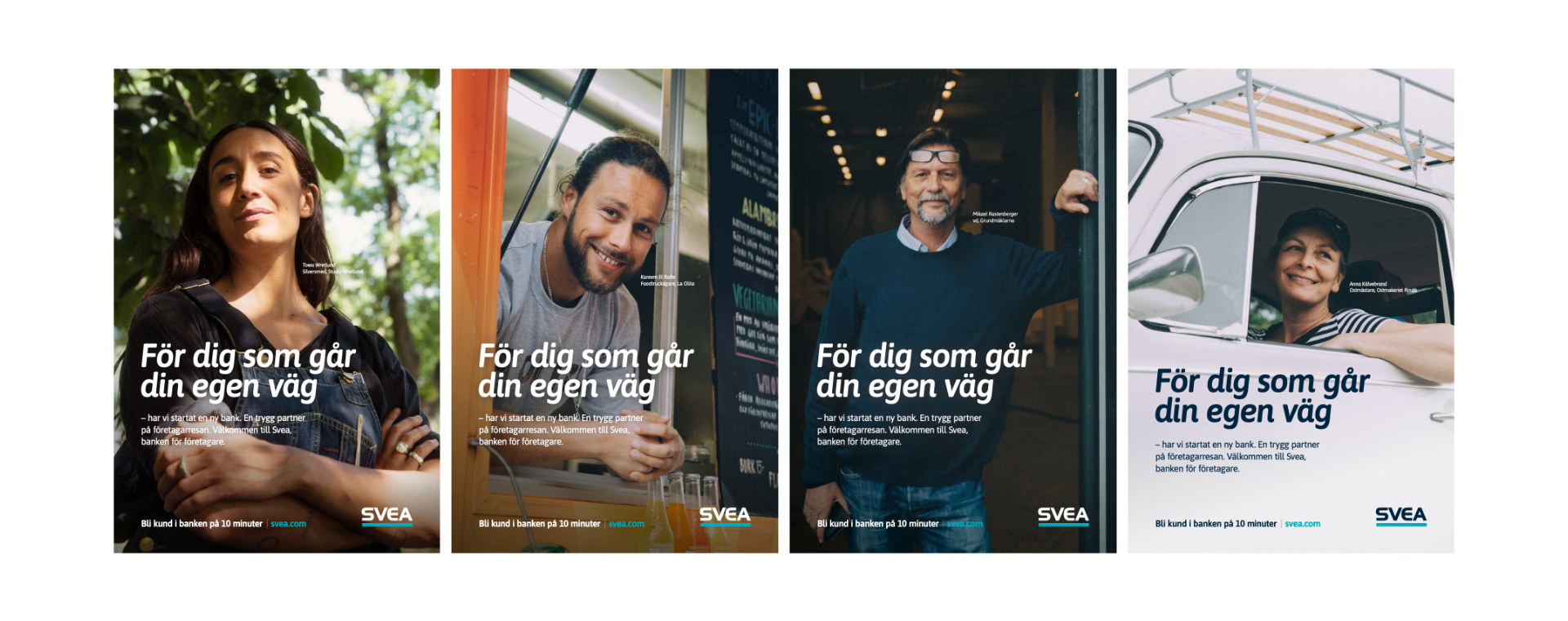 Advertising campaign for Svea Bank